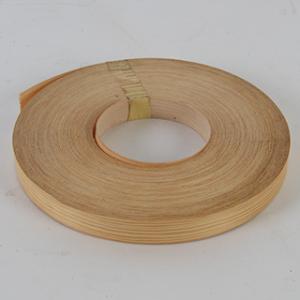 Grenen, kantfineer met lijm, 45mm, 50m.