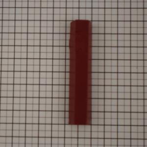 stopwasstaafje vuurrood, borma 15gr. (zacht) 125